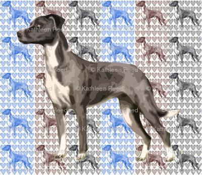Catahoula Leopard Dog Fabric