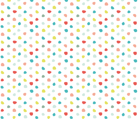 dot camping fabric by happy_to_see on Spoonflower - custom fabric