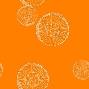 Abstract Pattern (orange)