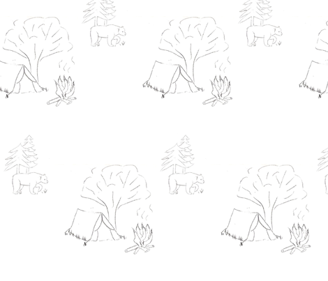 camping_toile fabric by kaynoh on Spoonflower - custom fabric