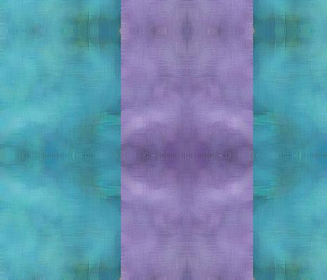 Cabin Stripe Large - Peacock fabric by tequila_diamonds on Spoonflower - custom fabric