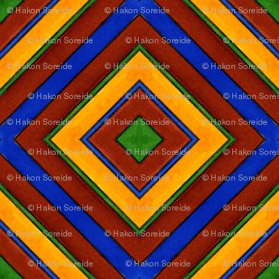 Quadrichrome Squares