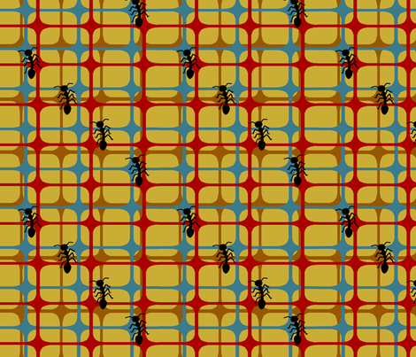 Antsonablanket fabric by grannynan on Spoonflower - custom fabric