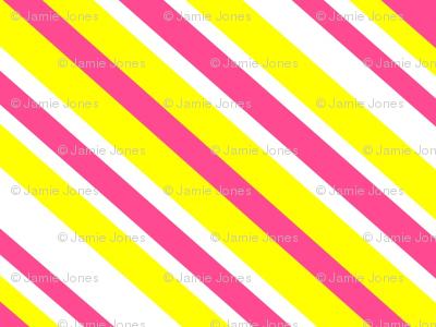 Preppy Diamonds (Yellow/Pink)