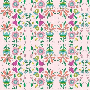 flowerfield in pink