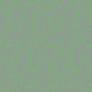Robot Circuit Board (Green & Gray)