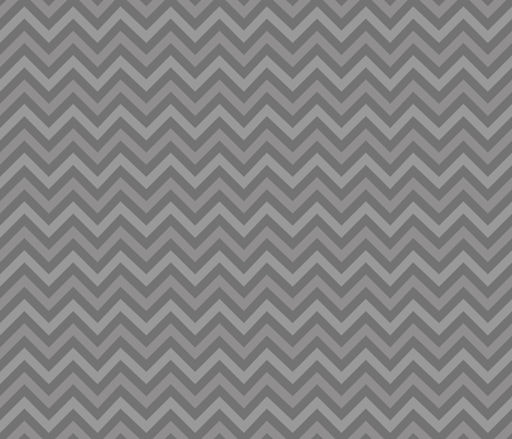 Robot Chevron fabric by robyriker on Spoonflower - custom fabric
