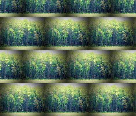 enchanted forest fabric by yellowee on Spoonflower - custom fabric
