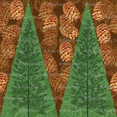 Pinecones & Evergreens