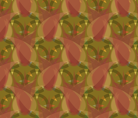 compass campfire memory fabric by meredithjean on Spoonflower - custom fabric