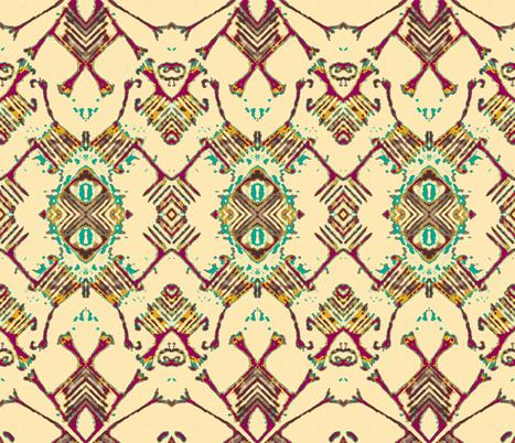 Pygmy Bark Cloth-variation 2 fabric by susaninparis on Spoonflower - custom fabric