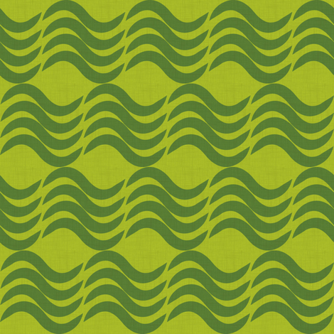Waves - summer fabric by thecalvarium on Spoonflower - custom fabric