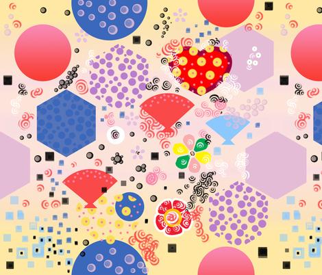 Japan_kawaii fabric by isabella_asratyan on Spoonflower - custom fabric
