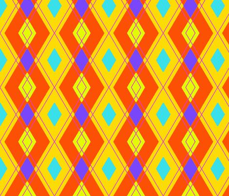 Diamond Jester 3 fabric by eyespotdesigns on Spoonflower - custom fabric