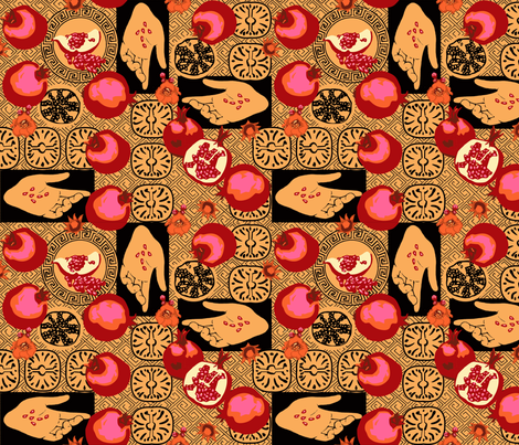 Persephone fabric by artgarage on Spoonflower - custom fabric