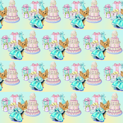 Millie LaRue Birthday Party  fabric by catialee on Spoonflower - custom fabric