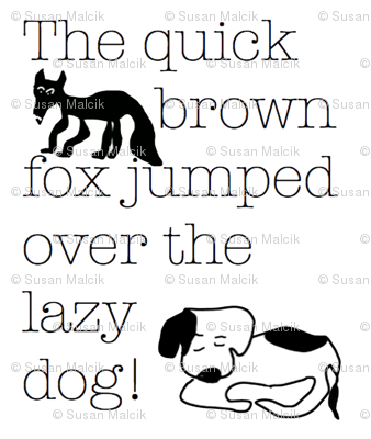 The Quick Brown Fox Jumped over the Lazy Dog!