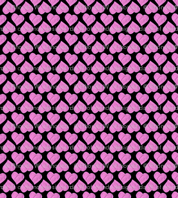 The Princesses' Hot Pink Hearts Party Cloth.