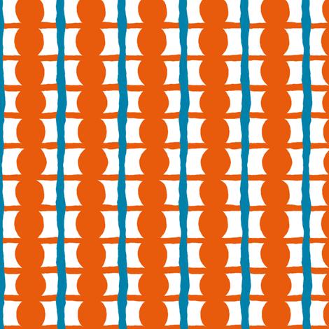 Beach Hat: Beady Boxes - large fabric by tallulahdahling on Spoonflower - custom fabric