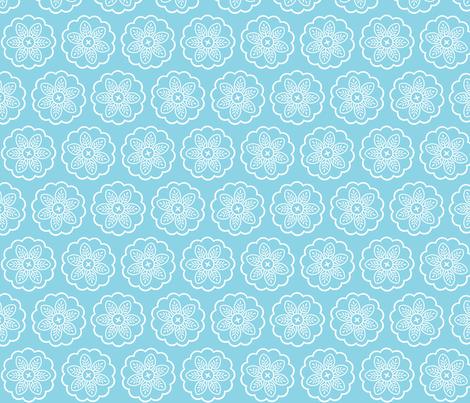 Pizzelle Flowers fabric by janekenstein on Spoonflower - custom fabric