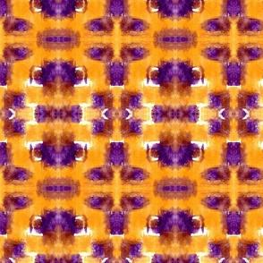 Orange & Purple Patches
