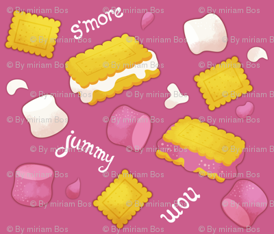 S'mores - pink