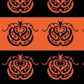 pumpkin patch (black and orange)