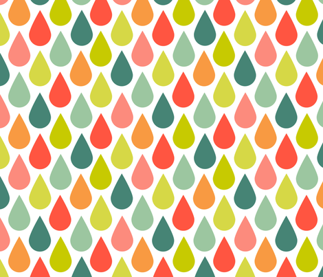 Happies of rains fabric by natitys on Spoonflower - custom fabric