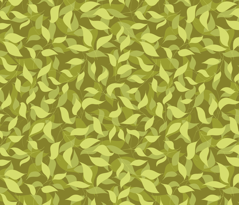 Brightest green fabric by stewsha on Spoonflower - custom fabric