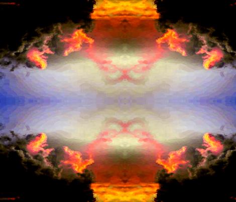 Glory Days fabric by anniedeb on Spoonflower - custom fabric