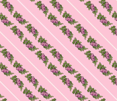 begonias fabric by hannafate on Spoonflower - custom fabric