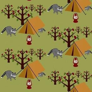 At Camp Funday / tents