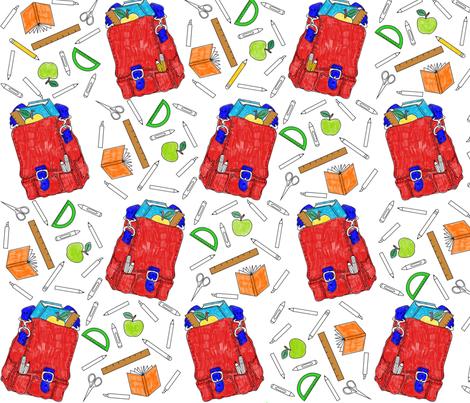 School Daze fabric by ambermk on Spoonflower - custom fabric
