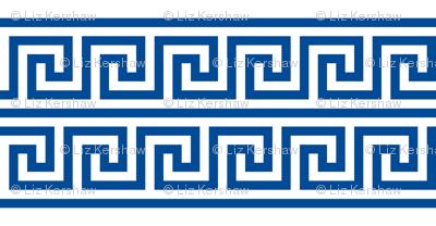Greek Key double row border