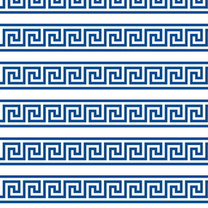 Greek Key single row border