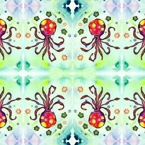 Okra Octopus