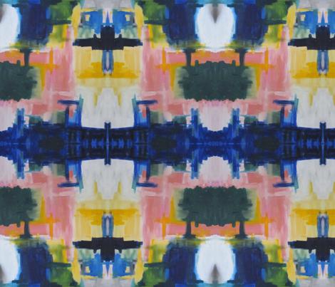 mantle_painting fabric by kerrysteele on Spoonflower - custom fabric