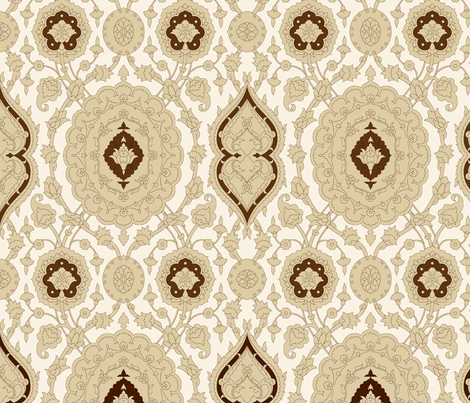 Serpentine 776 fabric by muhlenkott on Spoonflower - custom fabric