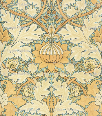 William Morris ~ Growing Damask