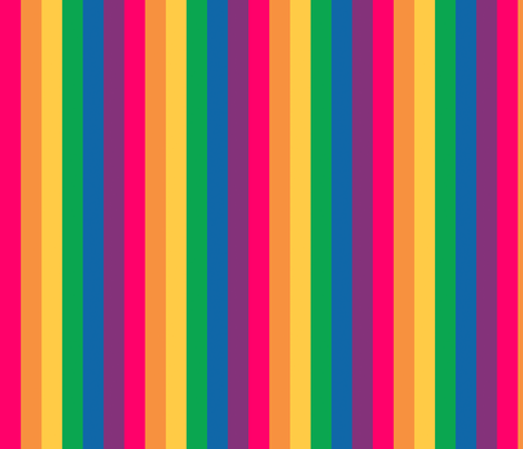 "Gay Pride Rainbow 1"" stripes fabric - myprettycabinet ..."