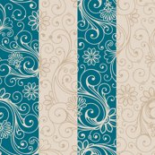 Teal_taupe_floral_stripes_shop_thumb