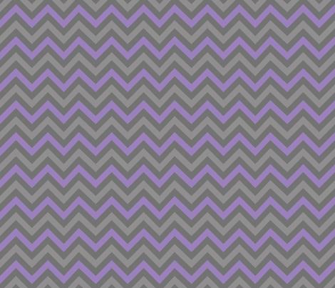 Robot Chevron (Purple) fabric by robyriker on Spoonflower - custom fabric