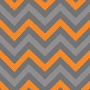 Robot Chevron (Orange)