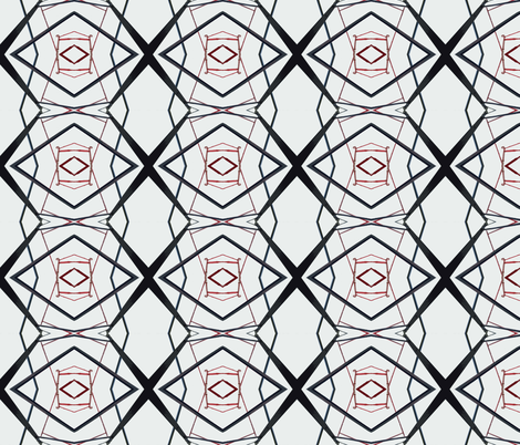 Geomatters 1 fabric by susaninparis on Spoonflower - custom fabric