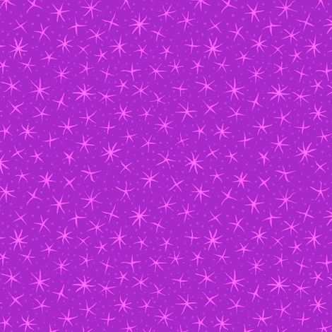 stellate whimsy in magenta fabric by weavingmajor on Spoonflower - custom fabric