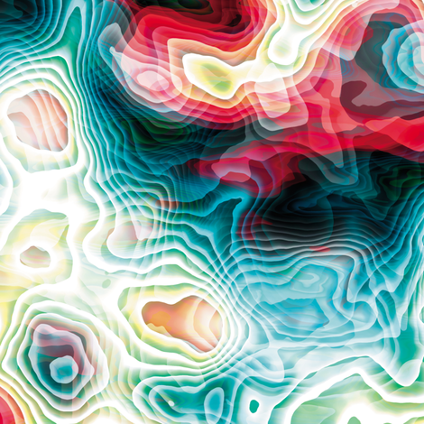 Turbulent 8 fabric by animotaxis on Spoonflower - custom fabric