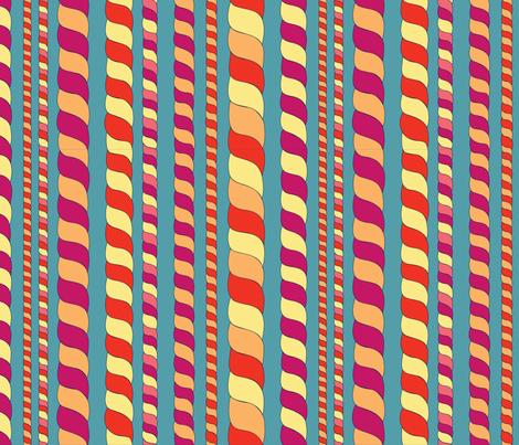 Evening lights fabric by stewsha on Spoonflower - custom fabric