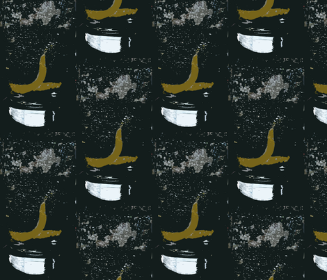 Gin and Tonic with Lemon - at Le Select, Paris fabric by susaninparis on Spoonflower - custom fabric