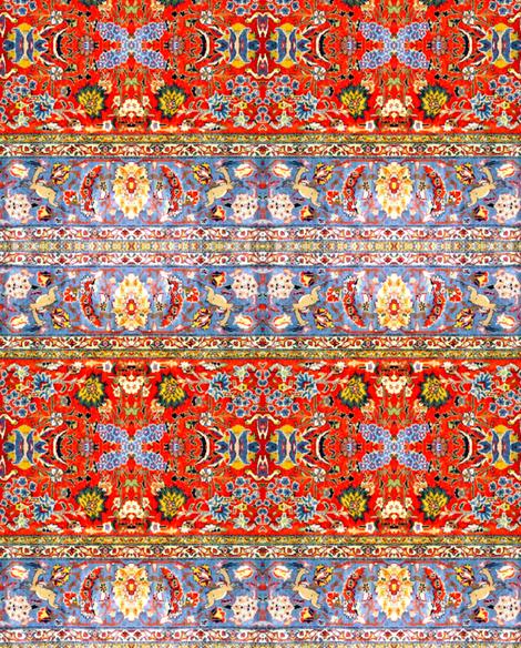 Oriental Mix big fabric by miss_blümchen on Spoonflower - custom fabric