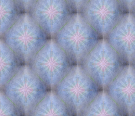 Blue Star fabric by feebeedee on Spoonflower - custom fabric